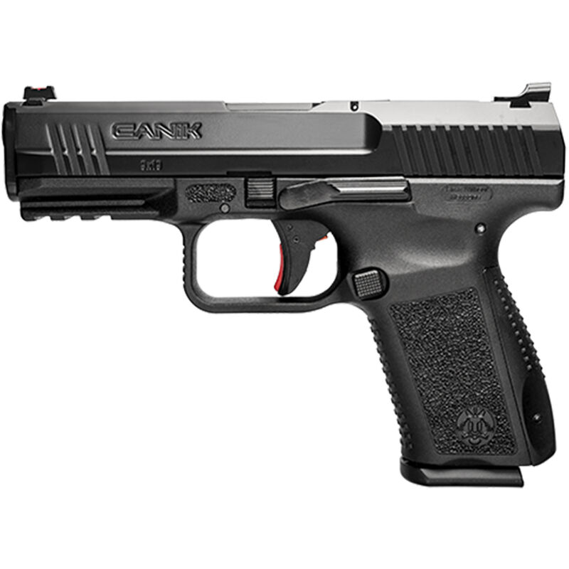 """Century Arms Canik TP9SF Elite ONE 9mm Luger Semi Auto Handgun 4.19"""" Barrel 15 Rounds FO Sights Changeable Backstrap Polymer Frame Black Finish"""