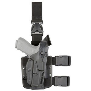 Safariland 7TS 7305 ALS/SLS Level III Tactical Holster with Quick Release Fits SIG Sauer P229 9/DAK 9 and P229R with Light Left Hand STX Plain Black