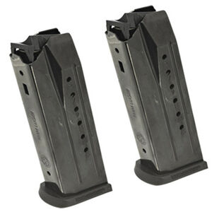 Ruger Security-9 15 Round Magazine 9mm Steel Black 2 Pack