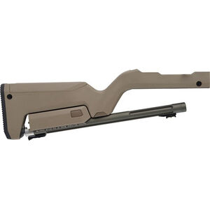 "Tactical Solutions X-Ring Takedown Combo .22 LR 16.5"" Threaded Barrel FDE Magpul Backpacker Stock with OD Green Finish"