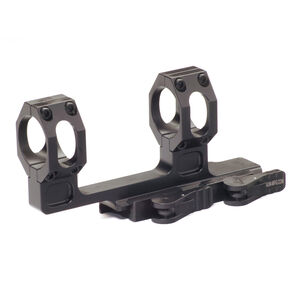 American Defense Mfg. Recon H 30mm Scope Mount with QD Lever 6061 T6 Aluminum Black AD-RECON-H-30