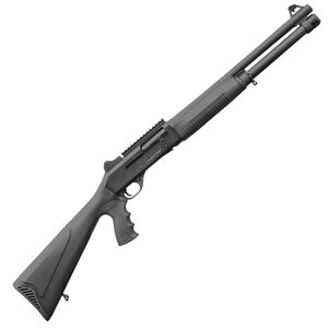 """Charles Daly 601 DPS 12 Gauge Semi Automatic Shotgun 18.5"""" Barrel 5 Rounds Ghost Ring Sights Synthetic Stock Black Finish"""
