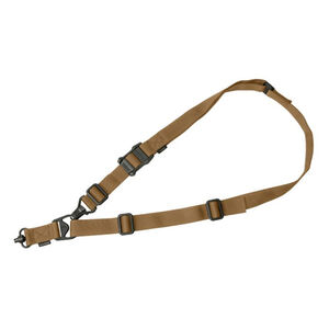Magpul MS3 Single QD Sling Gen2 Single or Two Point Paraclip/QD Swivels Included Nylon Coyote