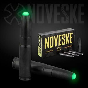 Noveske .300 AAC Blackout Nosler Subsonic Ballistic Glow Tip, 220 Grain, 1020 fps, 20 Round Box, 52235