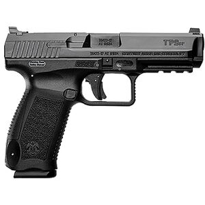 """Century Arms Canik TP9SF ONE 9mm Luger Semi Auto Handgun 4.46"""" Barrel 18 Rounds Changeable Backstrap Polymer Frame Black Finish"""