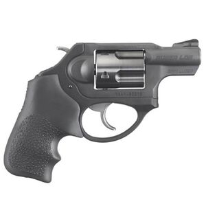 "Ruger LCRx 9mm Luger Revolver 1.87"" Barrel Fixed Sights Hogue Tamer Monogrip Matte Black Finish"