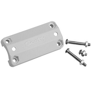 """Rail Mounting Adapter 7/8"""" and 1"""", White"""