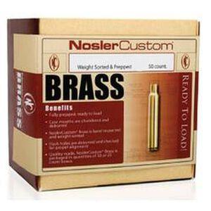 Nosler .243 Winchester Unprimed Brass 50 Count 10105