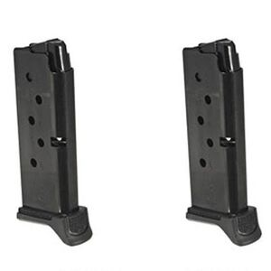 Ruger LCP II Magazine .380 ACP 6 Rounds Steel Blued 2 Pack 90644