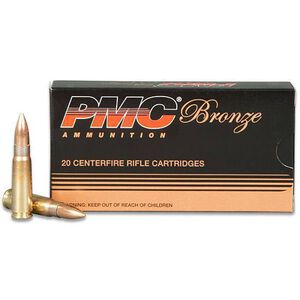 PMC 7.62x39 123gr FMJ 2350fps 20 Rounds