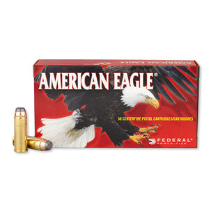 Federal American Eagle .45 Colt Ammunition 50 Rounds  JSP 225 Grain 860 Feet Per Second