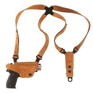 Galco Classic Lite Ruger LC9 Shoulder Holster System Right Hand Steerhide Natural CL636