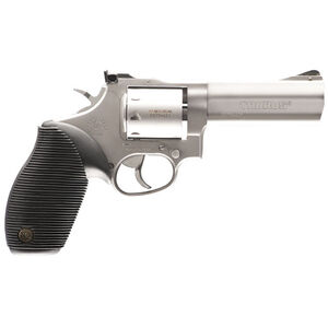 """Taurus Tracker 992 Double Action Revolver .22LR/.22 WMR 4"""" Barrel 9 Rounds Fixed Front Sight/Adjustable Rear Sight Ribber Grip Matte Stainless Steel Finish"""