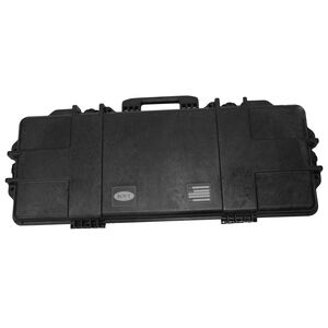 "Boyt H36SG AR/Carbine Single Firearm Case 38""x15.75""x5"" Water Resistant O-Ring Full Length Gasket High Density Egg Crate Foam Injection Molded Hard Case Matte Black Finish"