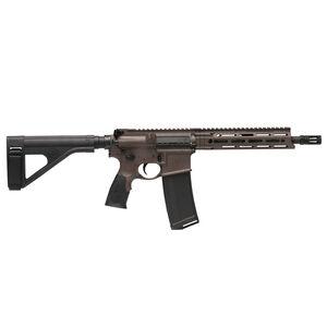 "Daniel Defense M4 V7 P AR-15 .300 AAC Blackout Semi Auto Pistol 10.3"" Barrel 32 Round Magazine DD MFR M-LOK Hand Guard SB-Tactical SOB Pistol Stabilizing Brace FDE Finish"