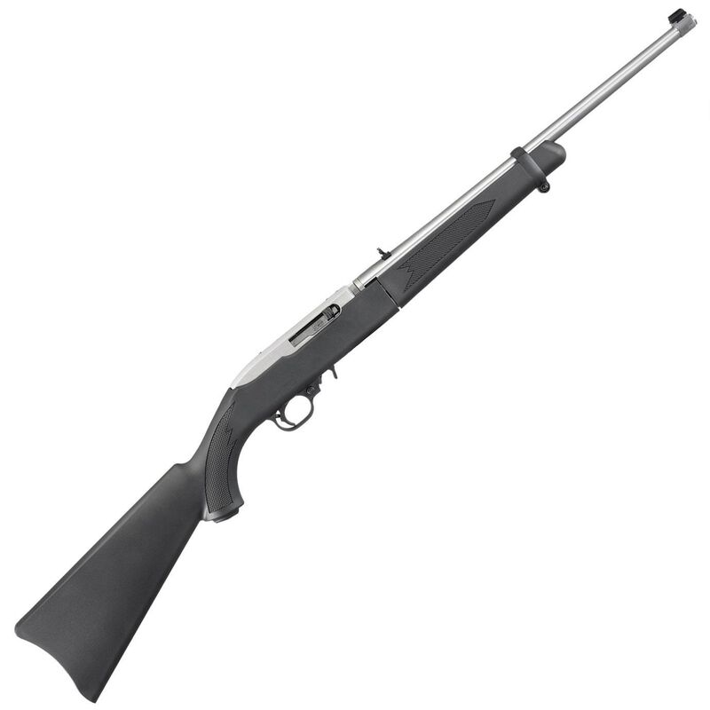 """Ruger 10/22 Takedown .22 LR Semi Auto Rifle 18.5"""" Barrel 10 Rounds Black Stock with Stainless Barrel and Action"""