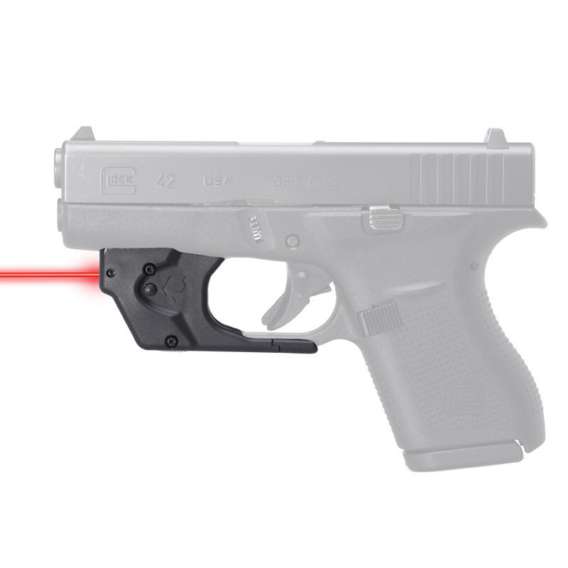 Viridian Essential Red Laser Sight for Glock 42/43, Non ECR, Retail Box