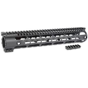 "Midwest Industries AR-10 SSM-Series Handguard 12"" w/ M-LOK Aluminum Black MI-AR10SSM12"