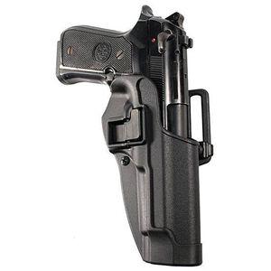 BLACKHAWK! SERPA CQC Beretta 92, 96, M9 Holster Left Hand Black Matte Finish 410504BK-L