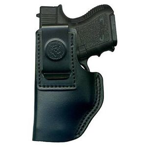 DeSantis 031 Glock 19/23/36, Taurus 24/7, Springfield XD, SIG Sauer 229/239 The Insider Inside the Pant Left Hand Leather Black