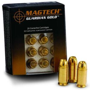 Magtech Guardian Gold .40 S&W Ammunition 20 Rounds JHP 180 Grains GG40B