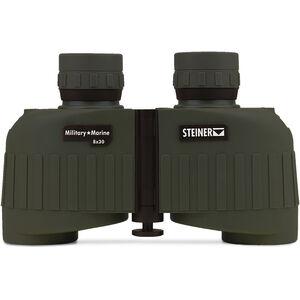 Steiner Military/Marine MM830 Binoculars 8x30mm Floating Prism System Makrolon Housing NBR Rubber Armor OD Green
