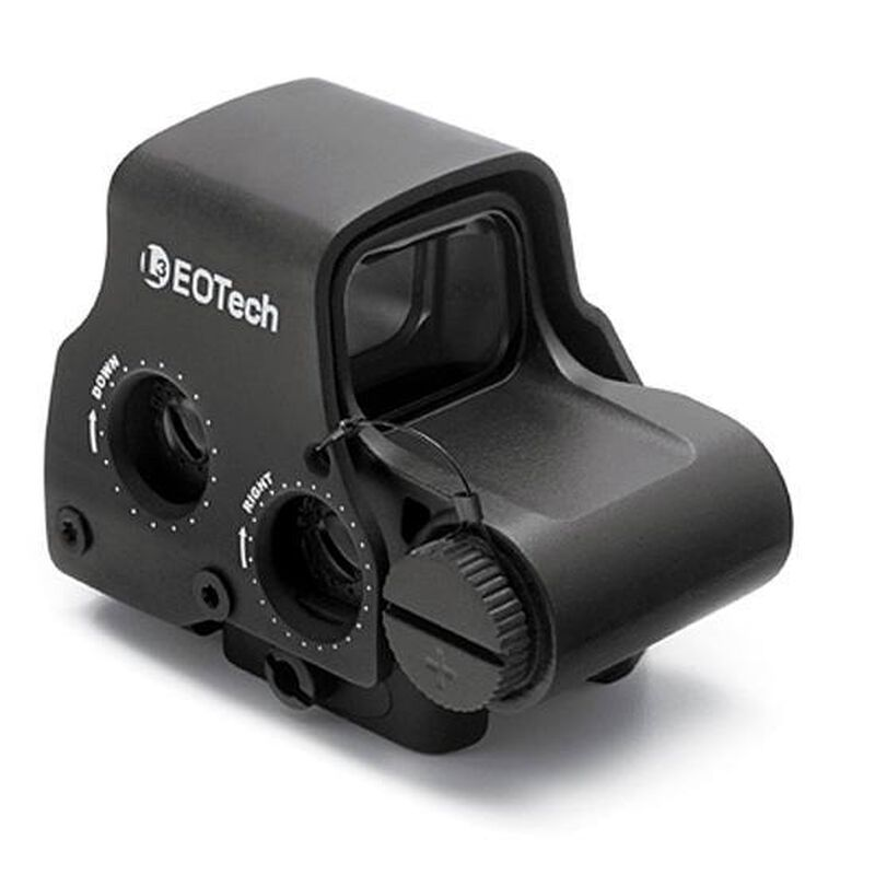 EOTech EXPS3 Holographic Weapon Sight 65 MOA Circle With Two 1 MOA Dots Night Vision Compatible Picatinny Lever Mount Black EXPS3-2
