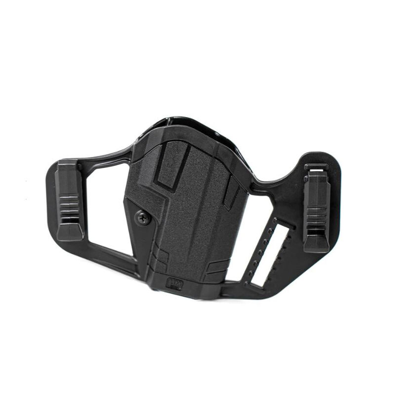 Uncle Mike's Apparition OWB/IWB Taurus PT111/PT140/G2/G2C Ambidextrous Holster Polymer Black