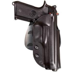 Beretta Civilian Ghost 92FS/96 Series Pistols Belt/Paddle Holster Polymer Right Hand Black