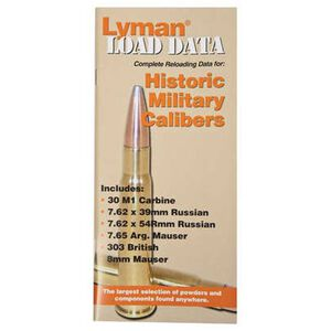 Lyman Load Data Book Rifle Old Military Rifle Calibers 9780016