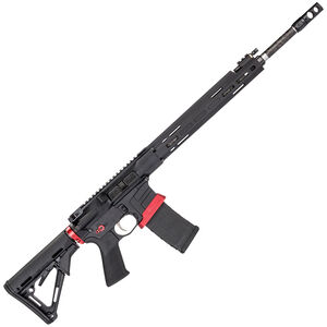 "Savage Arms MSR 15 Competition Semi Auto Rifle .223 Rem 30 Rounds 18"" Barrel Side Charger Free Float M-LOK Handguard Magpul CTR Stock Black"