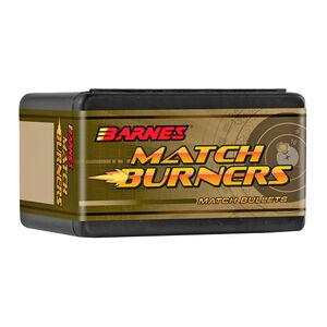 "Barnes Match Burner Lead Core 6mm Caliber .243"" Diameter 112 Grain Open Tip Match Boat Tail Projectile 100 Projectiles Per Box"