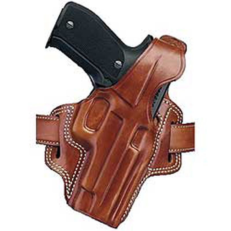 "Galco F.L.E.T.C.H. High-Ride Belt Holster Springfield Armory XD Service 4"" Barrel Right Hand Leather Tan  FL440"