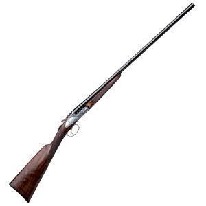 "F.A.I.R. ISIDE PRESTIGE Side by Side Shotgun 28 Gauge 28"" Barrels 2.75"" Chambers 2 Rounds Engraved Silver Receiver Walnut Stock Blued FR-ISPR-2828"