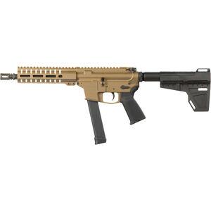 "CMMG Guard MkG 9mm Luger AR-15 Semi Auto Pistol 8"" Barrel 33 Rounds Uses GLOCK Style Magazines RML7 M-LOK Handguard Shockwave Blade Pistol Brace Black"