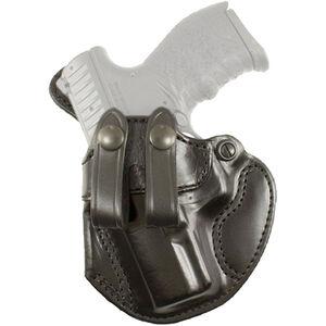 DeSantis Cozy Partner S&W Bodyguard .380 with Laser IWB Holster Left Hand Leather Black