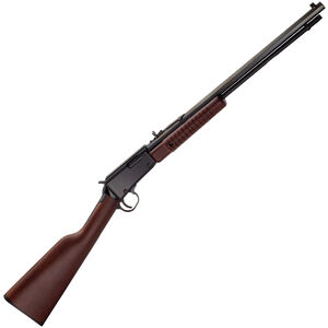 """Henry Repeating Arms Octagon Model H003T Pump Action Rimfire Rifle .22 Long Rifle 19.75"""" Barrel 15 Rounds American Walnut Stock Blued Finish"""