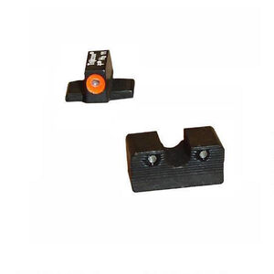 Trijicon Sig Sauer 9mm/.357 Sig HD Night Sight Set Tritium Orange Steel SG101O