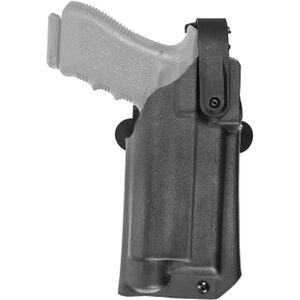 Comp-Tac Blue Duty Holster Fits GLOCK 17 Gen 5 with TLR-1 and Red Dot Right Hand Kydex Black