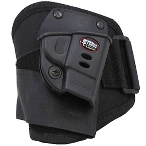 Fobus Ankle Holster S&W M&P Bodyguard .380 With Crimson Trace Laser Right Hand Polymer Black SWBGA