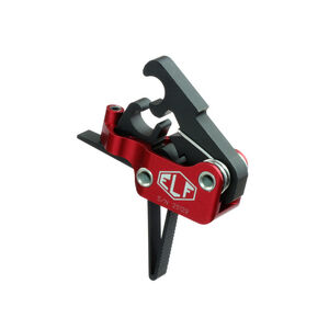 Elftmann Tactical AR-15 ELF Match Trigger Straight Drop-In Adjustable Large Pin Red/Black MATCH-S.170