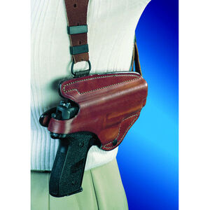Bianchi X16 Agent Shoulder Holster Right Hand Fits SIG P220/P226 Leather Tan