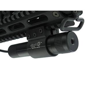 AimSHOT 5mW Green Laser Sight Tri Rail and Rail Mount