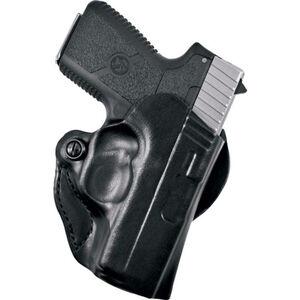 DeSantis Mini Scabbard Belt Holster S&W M&P Shield Left Hand Leather Black 019BBX7Z0