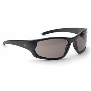 Walker's Ballistic Eyeware IKON Vector Smoke Gray Lens Matte Black Full Frame Glasses