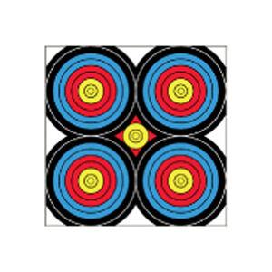 "Dura Mesh Archery Target Sight in Bulls-Eye Target 24""x24"""