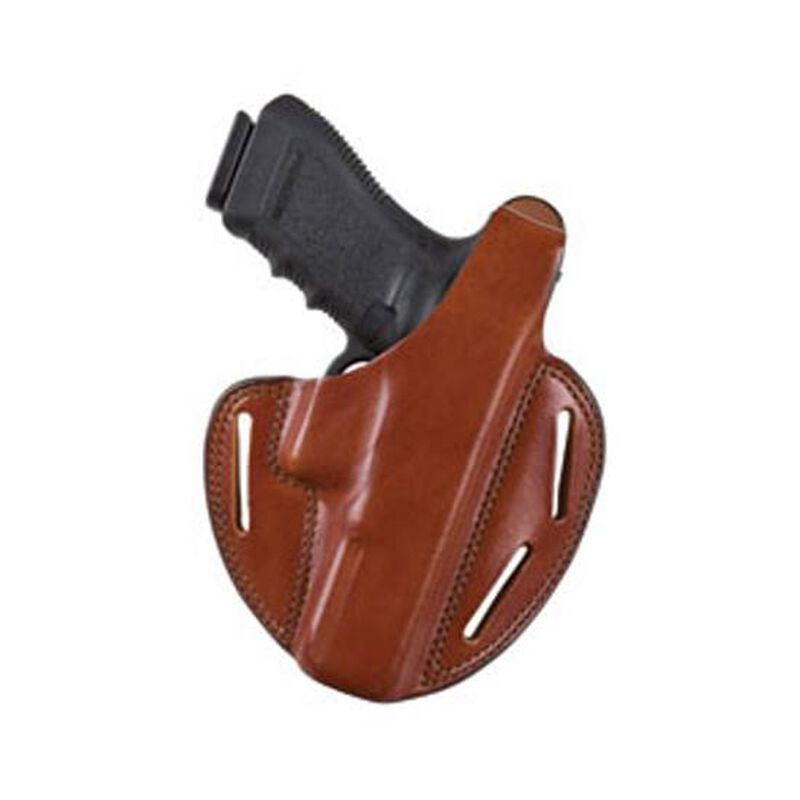"""Bianchi Shadow II Pancake Holster for Springfield XD(M) 4.5"""" Right Hand Leather Brown"""