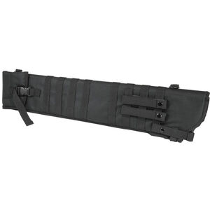 NcSTAR Tactical Shotgun Scabbard MOLLE Compatible Shoulder Carry or can be mounted on other MOLLE Gear Nylon Black