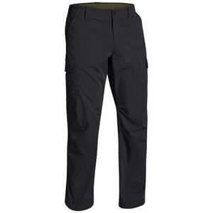 """Under Armour Performance UA Tactical Patrol Pants II Polyester Ripstop 32"""" Waist 32"""" Inseam Black 12654910013232"""