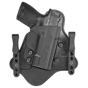 Comp-Tac MTAC Holster Smith & Wesson Shield EZ 380 IWB Hybrid Right Handed Leather/Kydex Black